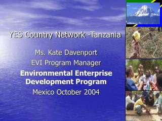 YES Country Network -Tanzania