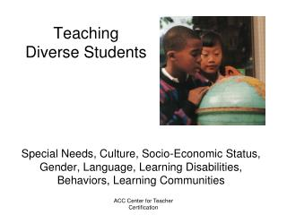 Teaching Diverse Students