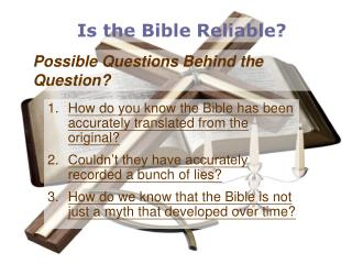 Possible Questions Behind the Question?