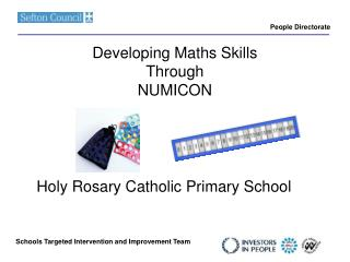 Developing Maths Skills Through  NUMICON