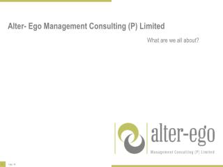 Alter- Ego Management Consulting (P) Limited