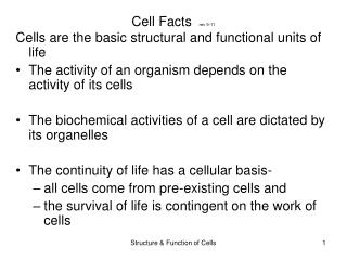 Cell Facts   rev 9-11
