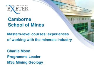 Camborne  School of Mines