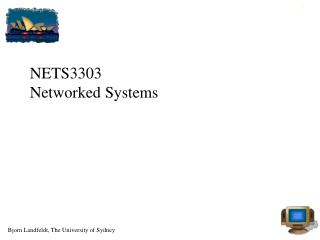 NETS3303 Networked Systems