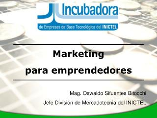 Marketing  para emprendedores