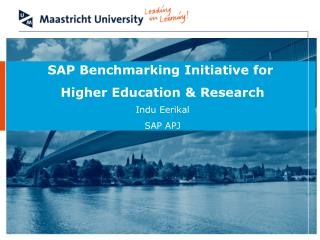 SAP Benchmarking Initiative for  Higher Education & Research