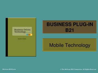BUSINESS PLUG-IN B21
