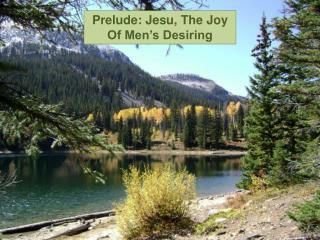 Prelude:  Jesu , The Joy Of Men's Desiring