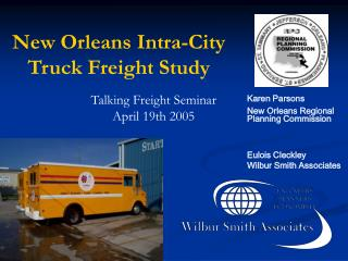 New Orleans Intra-City  Truck Freight Study