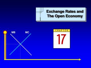 Exchange Rates and The Open Economy