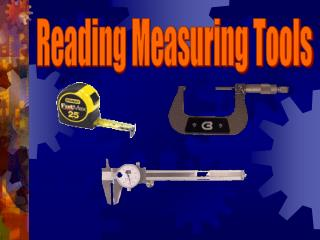 Reading Measuring Tools