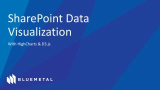 SharePoint Data Visualization