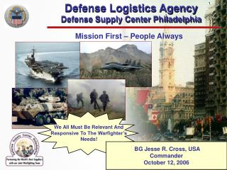 Defense Logistics Agency Defense Supply Center Philadelphia