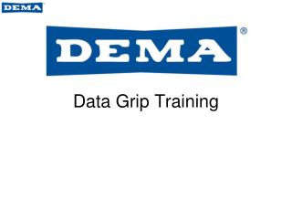 Data Grip Training