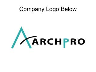 Company Logo Below