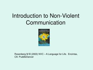 Introduction to Non-Violent Communication