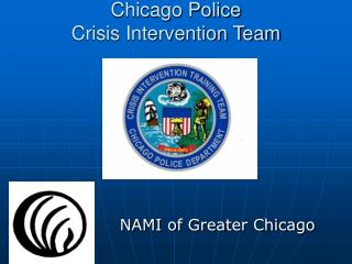 Chicago Police  Crisis Intervention Team