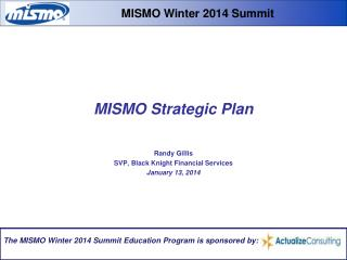 MISMO Strategic Plan