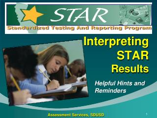 Interpreting STAR  Results