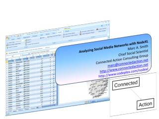Analyzing Social Media Networks with NodeXL Marc A. Smith
