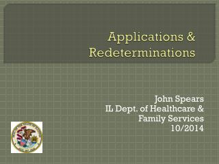 Applications & Redeterminations
