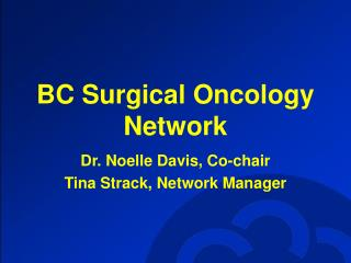 BC Surgical Oncology Network