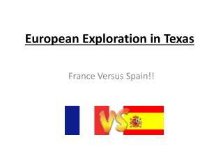 European Exploration in Texas