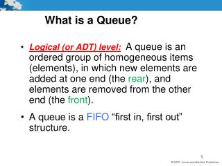 What is a Queue?