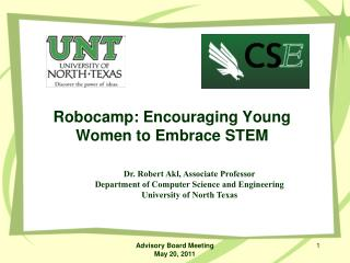 Robocamp: Encouraging Young Women to Embrace STEM