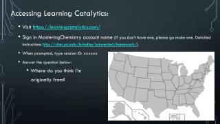 Accessing Learning  Catalytics :