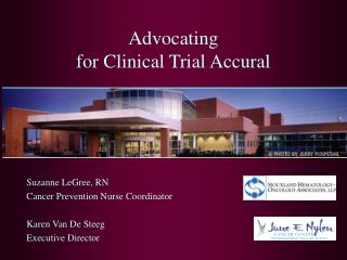Advocating  for Clinical Trial Accural