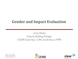 Gender and Impact Evaluation