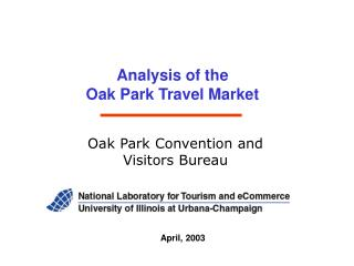 Analysis of the  Oak Park Travel Market