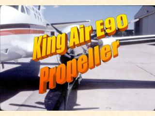 King Air E90 Propeller