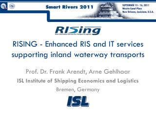 RISING - Enhanced RIS and IT services supporting inland waterway transports