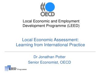 Local Economic Assessment:  Learning from International Practice