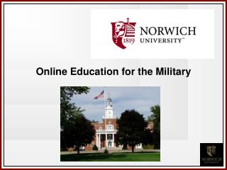 Online Education for the Military