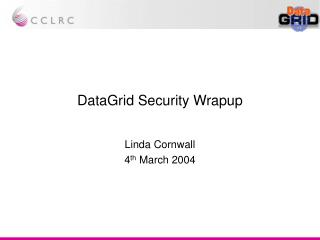 DataGrid Security Wrapup
