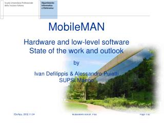 MobileMAN: hardware and low-level software