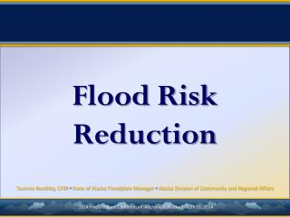 Flood Risk Reduction