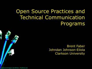 Open Source Practices and Technical Communication Programs