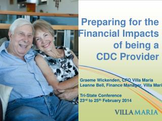 Preparing for the Financial Impacts of being a  CDC  Provider