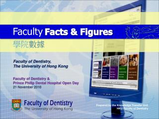 Faculty of Dentistry,  The University of Hong Kong Faculty of Dentistry &