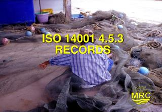 ISO 14001 4.5.3  RECORDS