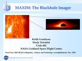 MAXIM: The Blackhole Imager