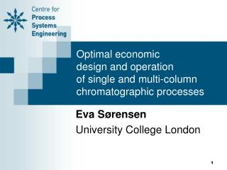 Optimal economic  design and operation  of single and multi-column  chromatographic processes
