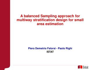 A balanced Sampling approach for multiway stratification design for small area estimation