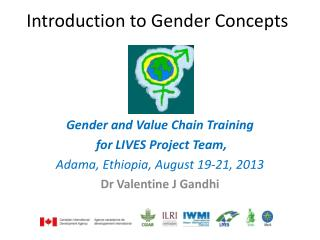 Introduction to Gender Concepts