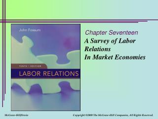 A Survey of Labor Relations In Market Economies