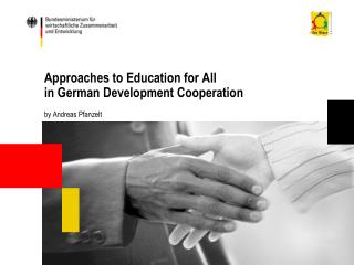 Approaches to Education for All  in German Development Cooperation